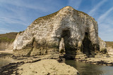 The cliffs of Selwicks Bay in Flamborough Head near Bridlington, East Riding of Yorkshire, UK - 188650171
