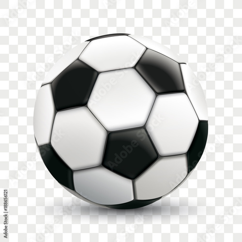 Fototapeta Football Transparent Background