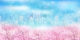 桜 春 風景 背景 - 188658919