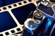 Shutter cocking lever film SLR