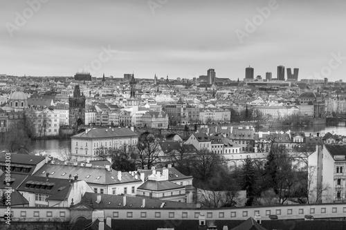 Fridge magnet Prague City during Christmas