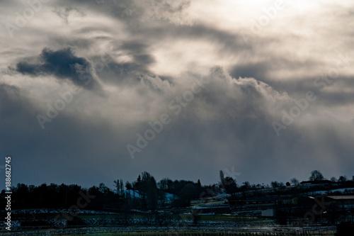 Foto Murales Sturmwolken