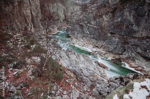 Keuken foto achterwand Natuur Norwegen   Børselva Canyon