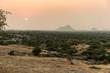 sunrise over Jawai Leopard Reserve, Bera, Rajasthan