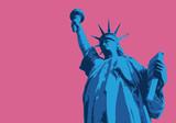 Statue de la liberté - New York - symbole, américain - décoration - déco - fond - 188695571
