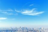東京新宿の高層ビル群