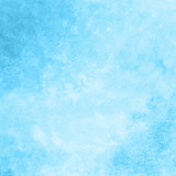 bright blue watercolor texture background, hand painted - 188709724