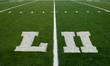 Football Field LII Yard Line