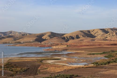 Papiers peints Cappuccino marokkanische Landschaft