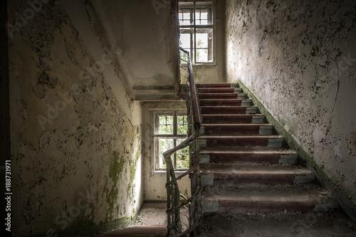 Fridge magnet Heilstätte - Lost Place
