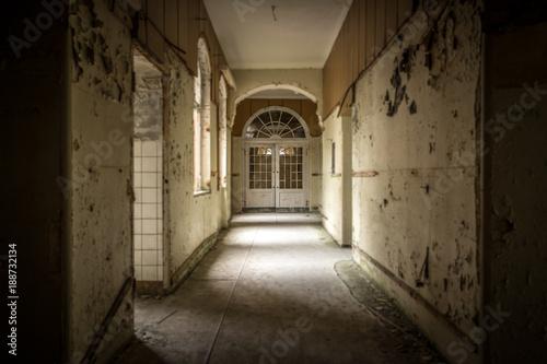 Poster Heilstätte - Lost Place