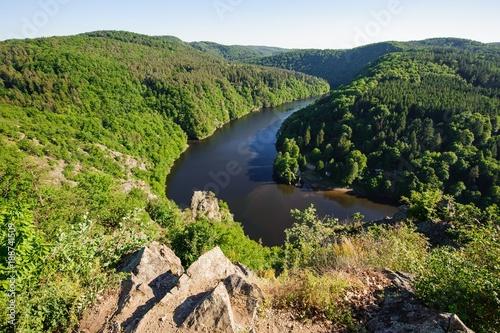 Foto Murales View of river