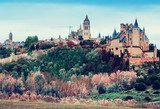 View of old Segovia with Alcazar - 188744338