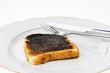 burnt toast slices of bread - 188797573