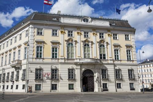 Aluminium Wenen austria. vienna. federal chancellery