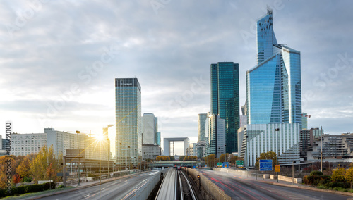La defense district in Paris , France - 188798108