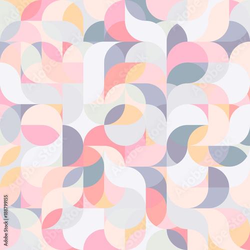 Materiał do szycia Streszczenie tło kolorowe harmonicznej fala geometrycznej