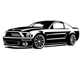 Muscle car modern 2