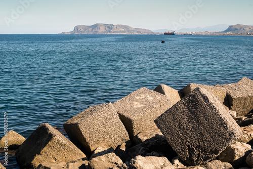 Foto op Aluminium Palermo Palermo Bay Sicily Foro Italico