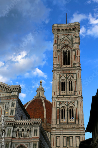 Papiers peints Florence FLORENCE Italy bell tower by Giotto an italian artist near the Cathedral