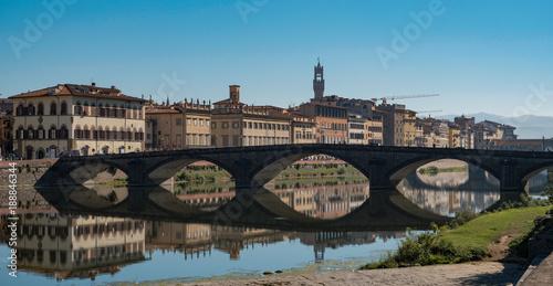 Papiers peints Florence St Trinity Bridge, Florence, Italy