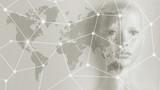 Artificial intelligence concept - Internet, network, globalization - 188849562