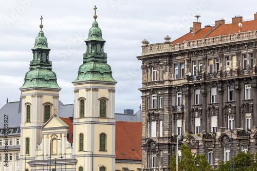Foto op Canvas Boedapest Innerstädtische Pfarrkirche,Liebfrauenkirche,Budapest,Ungarn