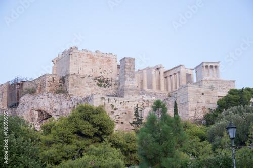 Deurstickers Athene Athens - Acropoli