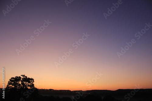 Foto op Plexiglas Lavendel Sun In the morning