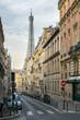 canvas print picture - Straßenszene in Paris, Frankreich