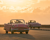 Vintage Cars are a symbol of Old Havana, Cuba