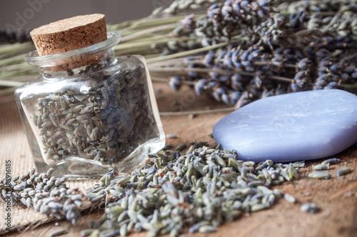 Fotobehang Lavendel lavande séchée