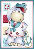 Hipopótamo Náutico Girl - 188923723