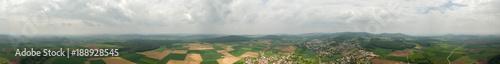 Panorama über Landwirtschaft