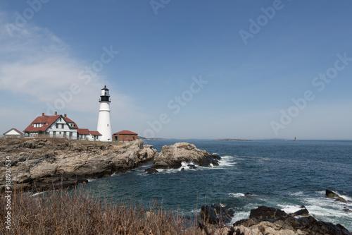 Coastal Maine Lighthouse Poster