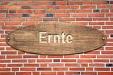Schild 240 - Ernte - 188963191