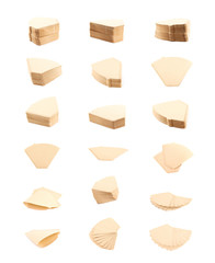 Set of coffee filters compositions