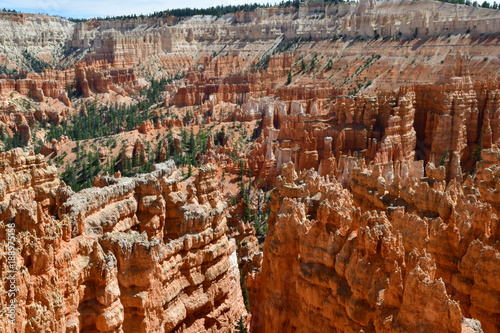 Fotobehang Rood paars Bryce Canyon, USA - july 9 2016 : National Park
