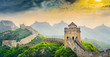 Leinwanddruck Bild - The Great Wall of China