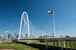 Dallas Skyline Behind Bridge