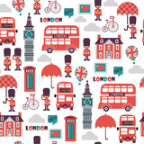 vector british seamless pattern © iuliia