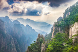 Landscape of Huangshan Mountain (Yellow Mountains). Located in Anhui province in eastern China.