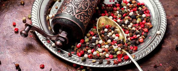 Mixed of peppers © nikolaydonetsk