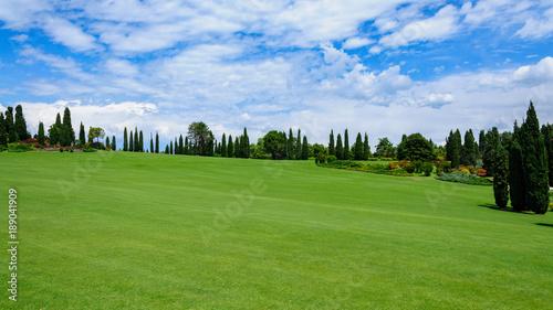 Deurstickers Gras Sigurta Park, Włochy