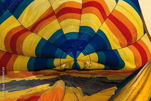Inside the hot air balloon - 189044769
