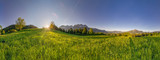 breites Panorama von Kitzbühler Horn und Wilden Kaiser - 189046790