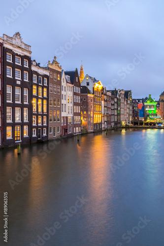 Deurstickers Amsterdam Amsterdam Canals Netherlands