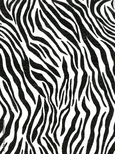 Crepe paper that ha s a zebra pattern for wallpaper or backgrounds - 189081344