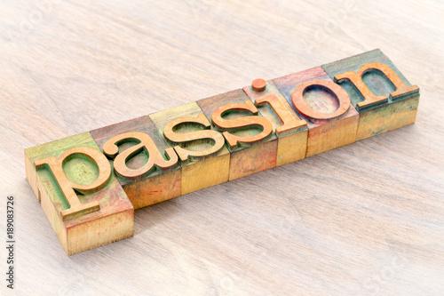 passion-word-in-wood-type