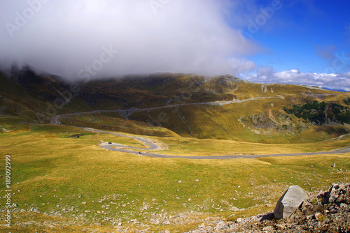 Foto op Aluminium Honing Transalpina Road in Parang Mountains, Romania, Europe